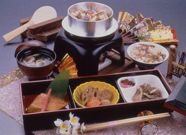 定食「松」 1,404円(お召しあがり30分前連絡してください)